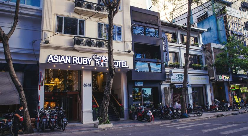 Khách sạn Asian Ruby Center Point Sài Gòn
